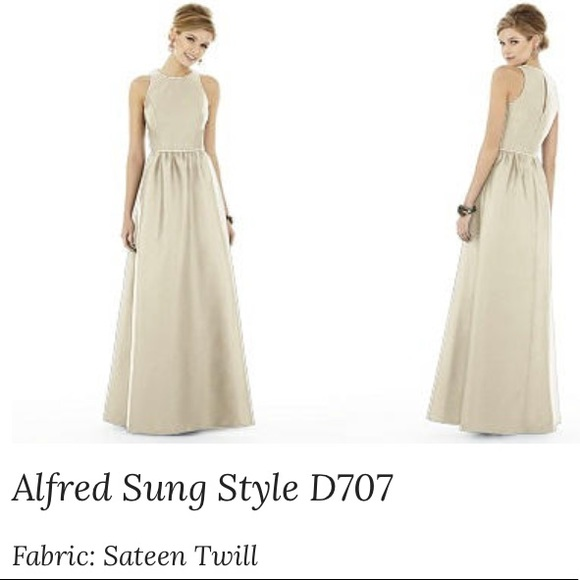 7f0409c285f91 Alfred Sung Dresses & Skirts - Alfred Sung bridesmaids dress Palomino